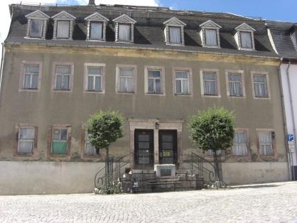 Der Ratskeller Lößnitz vor der Sanierung